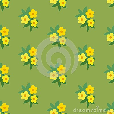 simple floral pattern