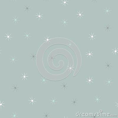 snowflakes stars pattern